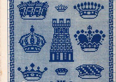 Vintage Historic Cross Stitch Patterns 6