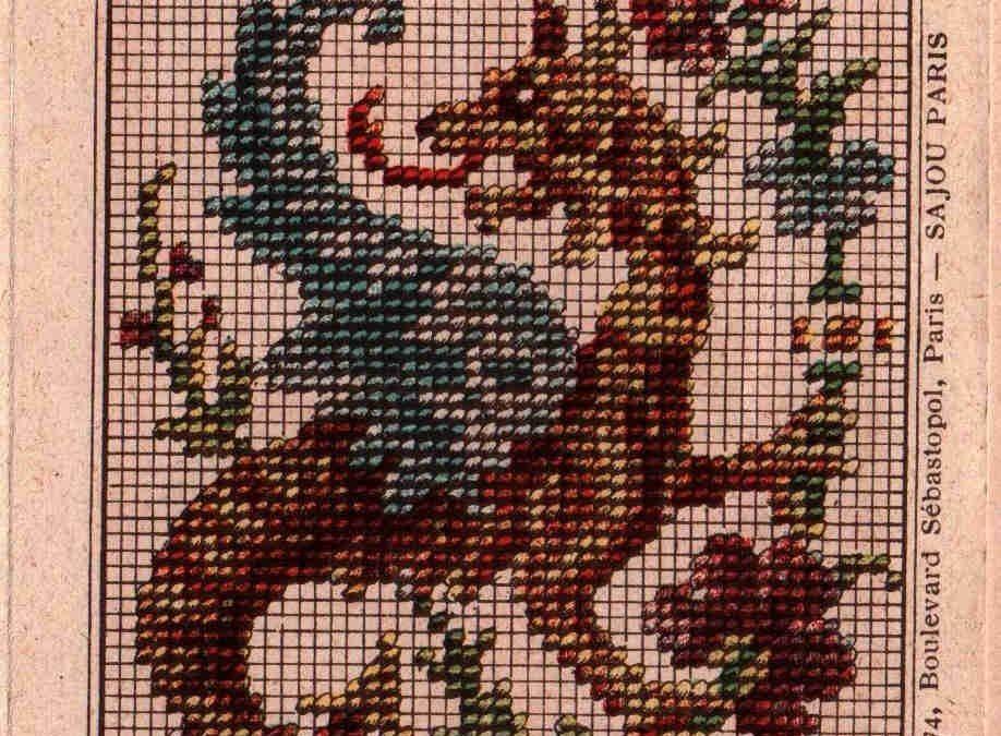 Russian Folk Ornaments 1871 Cross Stitch