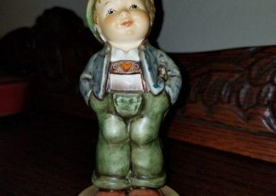 Hummel Figurine Hello World (#399/Hum 429) Happy Boy