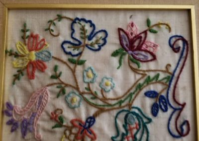 Flowers Embroidery  by Lady Alice
