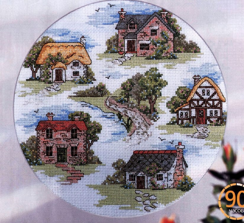 Cottages Cross Stitch